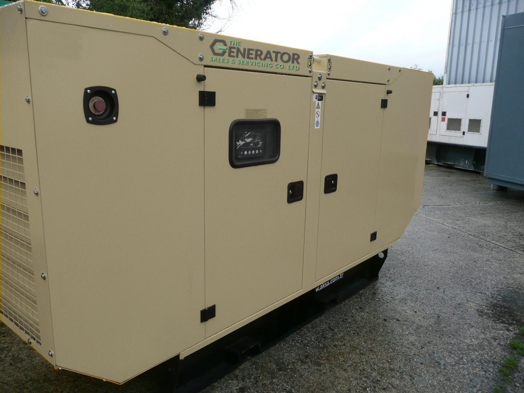 200 kva generator for sale in the UK Generator Sales & Servicing Co