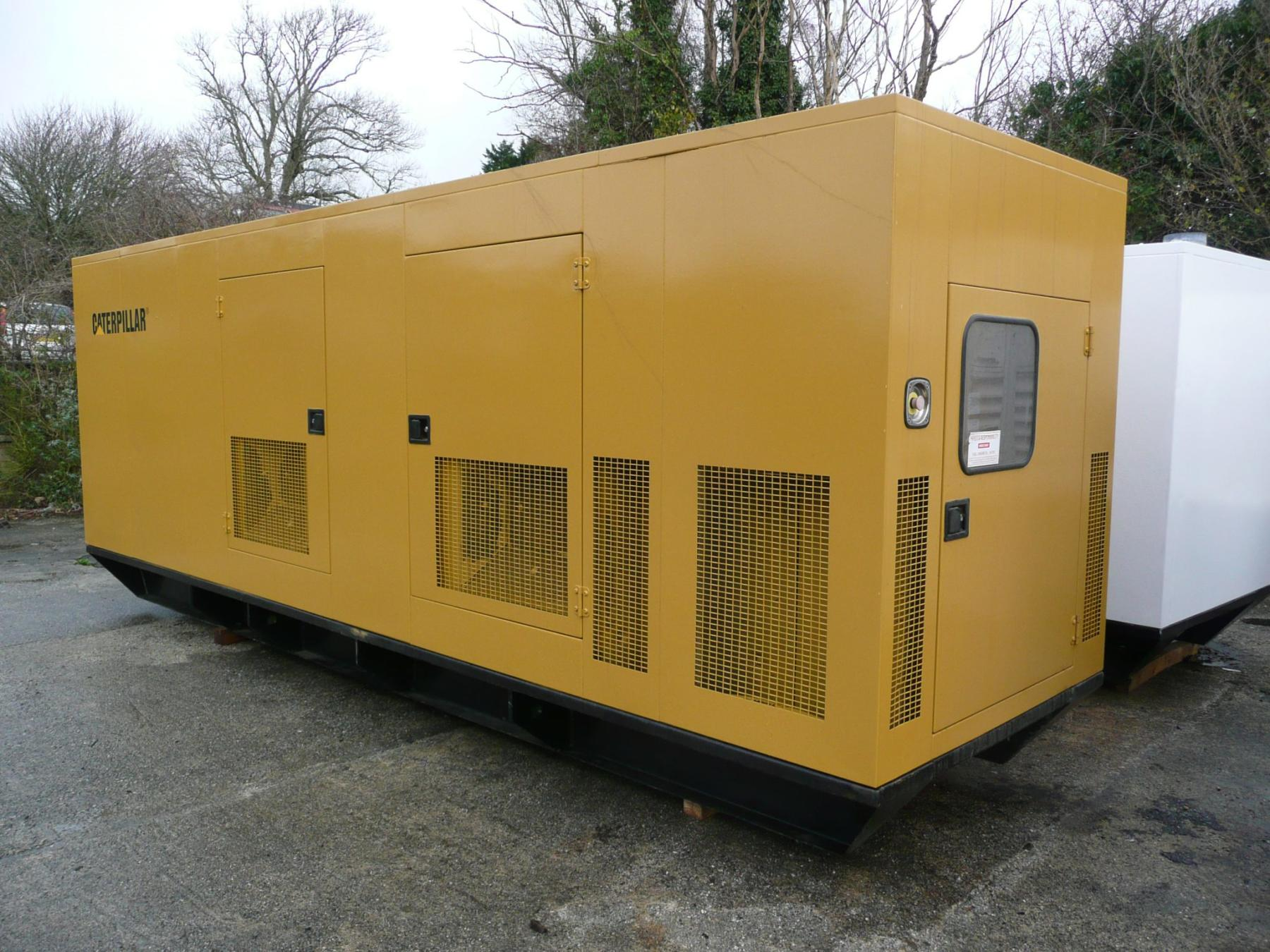 CATERPILLAR 500KVA GENERATOR Generator Sales & Servicing Co